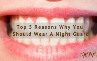 why you should wear a night guard blog cover image