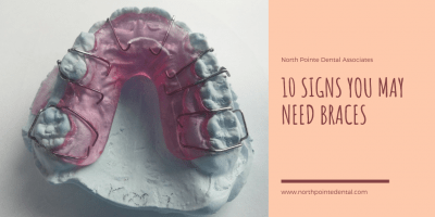 Featured image for an article called 10 Signs You May Need Braces